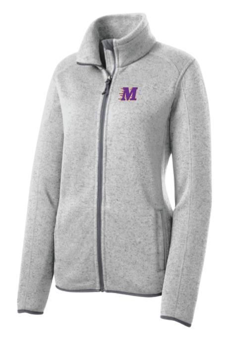 Port Authority® Ladies Sweater Fleece Jacket • L232