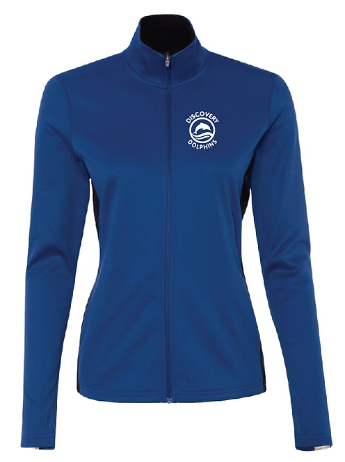 Champion - Women's Performance Full-Zip Jacket - S260 • Royal/Black