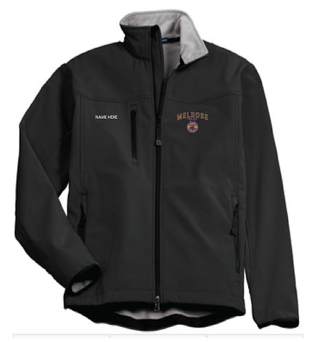 M. FFA Port Authority® Glacier® Soft Shell Jacket • J790 • Black • w/name
