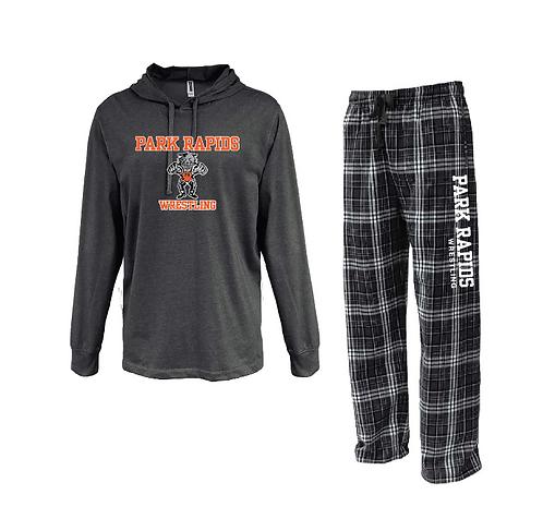 Loungewear Set • FLNP • 7601 • Black - Black/white