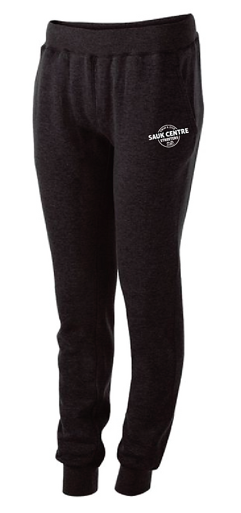 Ladies 60/40 Fleece Jogger • 229748 • black