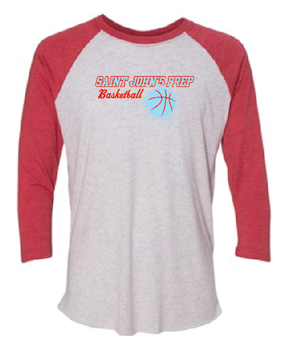 Next Level - Unisex Tri-Blend 3/4 Sleeve Baseball Raglan Tee - 6051
