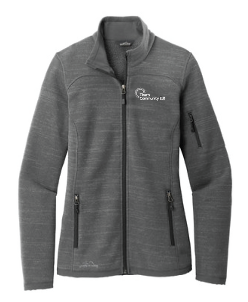 Eddie Bauer ® Ladies Sweater Fleece Full-Zip • EB251