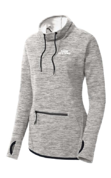 Sport-Tek ® Ladies Triumph Cowl Neck Pullover •LST280