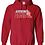 Thumbnail: Gildan - Heavy Blend Hooded Sweatshirt - 18500 WITH NAME