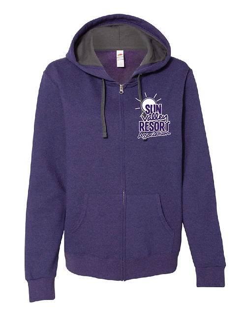 Fruit of the Loom - Women's Sofspun® Full-Zip Hooded Sweatshirt