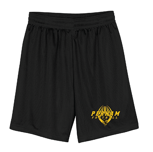 "A4 Men's 9"" Inseam Micro Mesh Shorts • N5255 • black"