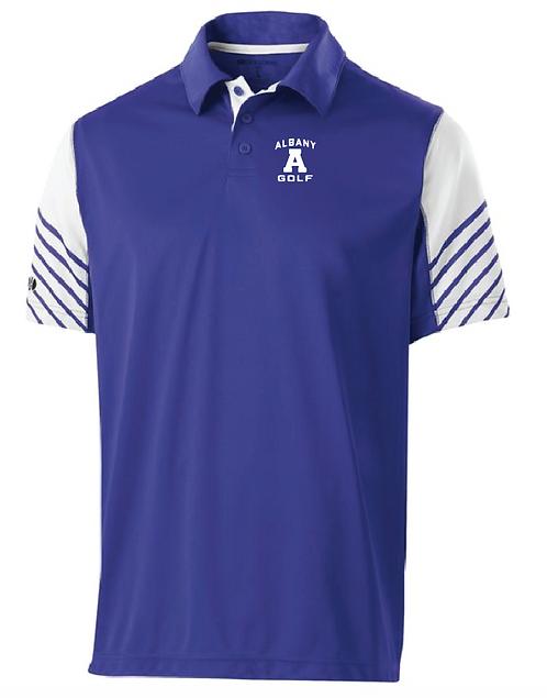 AG Arc Polo •222548 • purple/white