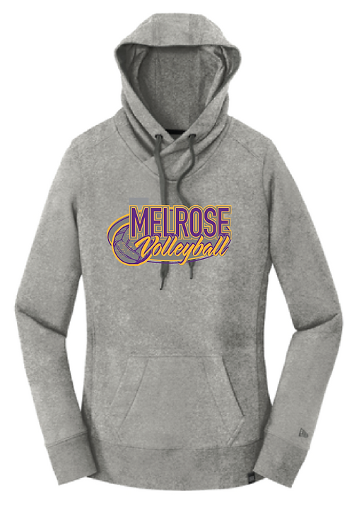 New Era® Ladies French Terry Pullover Hoodie • LNEA500 • Light Graphite