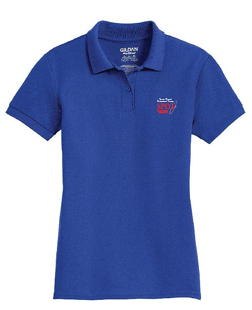 72800L Gildan® Ladies DryBlend® 6-Ounce Double Pique Sport Shirt