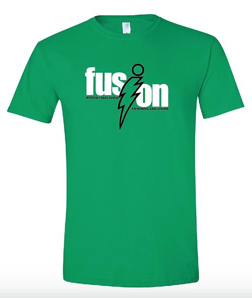 Gildan - Softstyle® T-Shirt • 64000 • Irish Green •with name