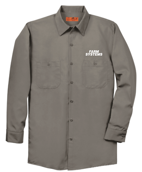 Red Kap® Long Sleeve Industrial Work Shirt • SP14