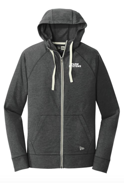New Era® Sueded Cotton Blend Full-Zip Hoodie • NEA122