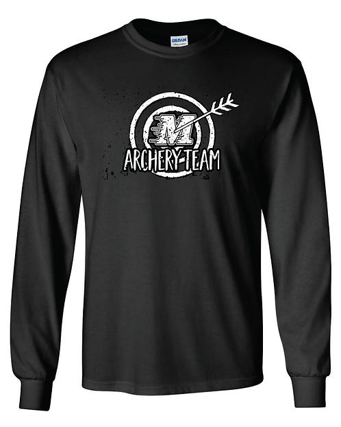 Gildan® - Youth Ultra Cotton® Long Sleeve T-Shirt- 2400b - black