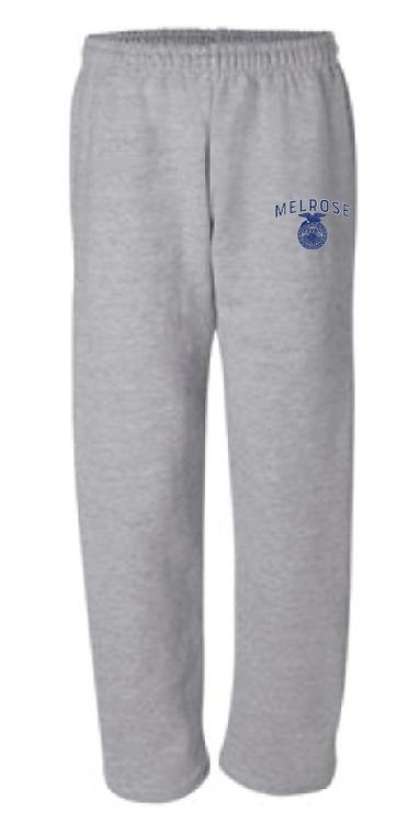 M. FFA Gildan - DryBlend Open Bottom Pocketed Sweatpants - 12300 - sports grey