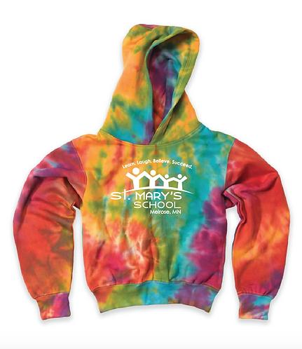 MV Sport - Youth Classic Fleece Tie Dye Hood - 128Y• tie dye hoodie