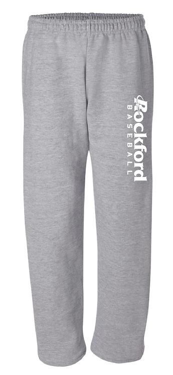Gildan - DryBlend Open Bottom Pocketed Sweatpants - 12300 - sports grey