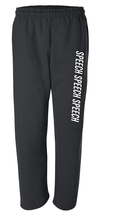 Gildan - DryBlend Open Bottom Pocketed Sweatpants - 12300 •black