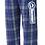 Thumbnail: Flannel Pant • FLNP • Royal/white