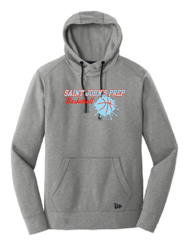 New Era® Tri-Blend Fleece Pullover Hoodie • NEA510 • Shadow Grey Heather