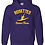 Thumbnail: Gildan - DryBlend® Hooded Sweatshirt - 12500 • Purple