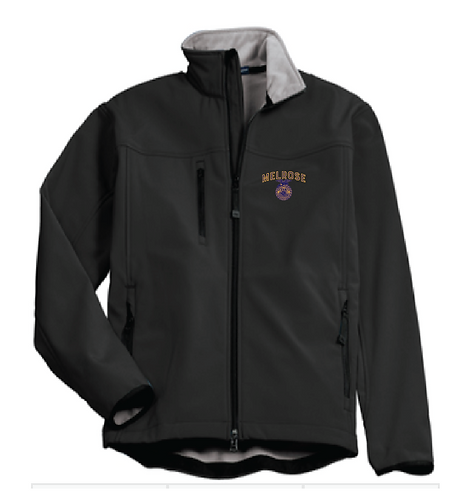 M. FFA Port Authority® Glacier® Soft Shell Jacket • J790 • Black