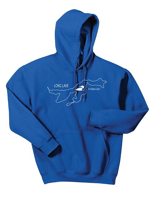 Gildan® - Heavy Blend™ Hooded Sweatshirt - 18500 - Long Lake