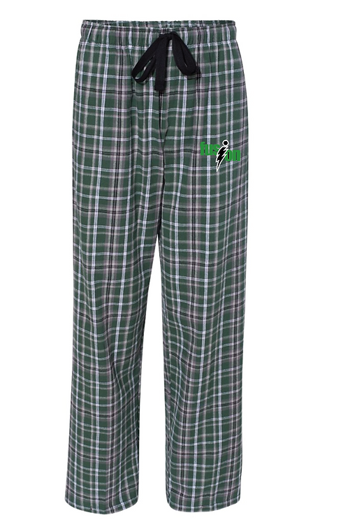 Boxercraft - Flannel Pants With Pockets - F20 • Green/black