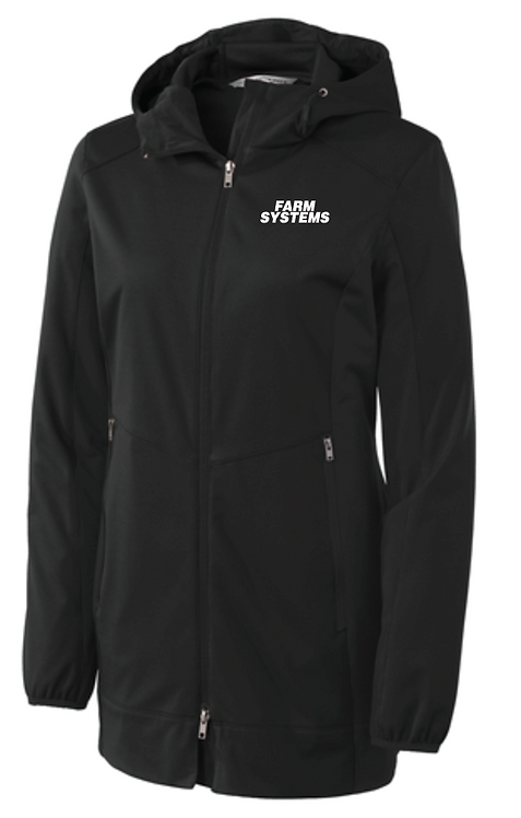 Port Authority® Ladies Active Hooded Soft Shell Jacket •L719