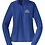 Thumbnail: Sport-Tek® Ladies Sport-Wick® Stretch 1/2-Zip Pullover • LST850 • royal