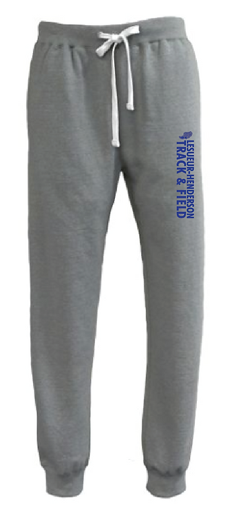 Throwback Jogger • 8106 • grey heather