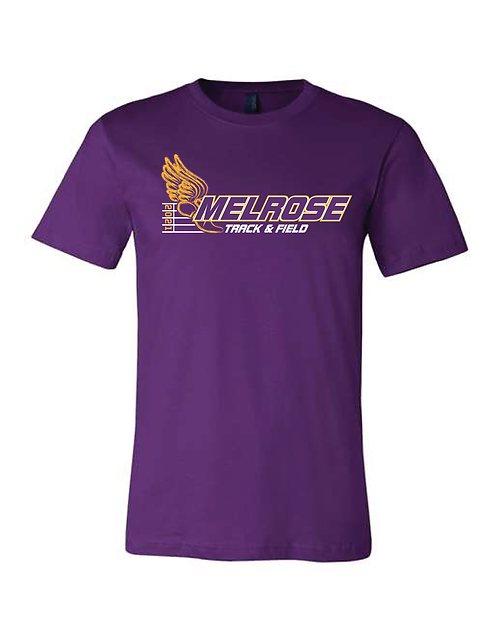 Melrose Track BELLA + CANVAS - Unisex Jersey Tee - 3001