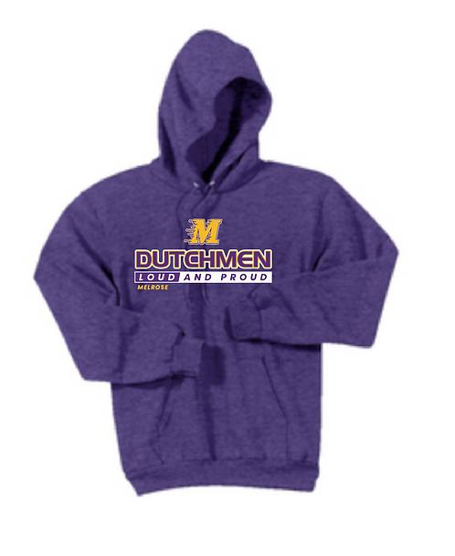 Port & Company® - Core Fleece Pullover Sweatshirt • PC78H • Heather Purple