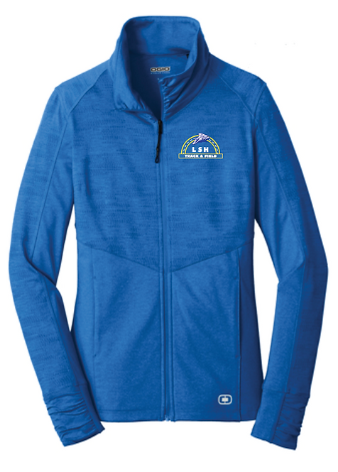 OGIO® ENDURANCE Ladies Sonar Full-Zip • LOE702 • Electric blue heather