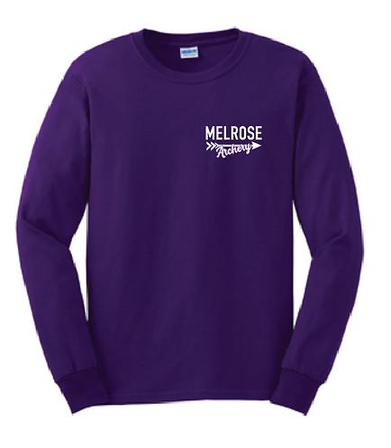 Gildan® - Youth Ultra Cotton® Long Sleeve T-Shirt- 2400b • purple