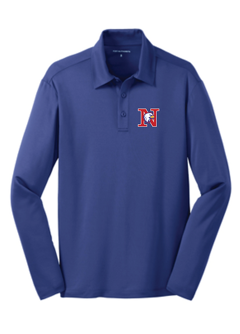 Port Authority® Silk Touch™ Performance Long Sleeve Polo • K540LS