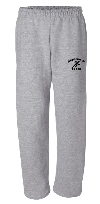 AT Gildan - DryBlend Open Bottom Pocketed Sweatpants - 12300