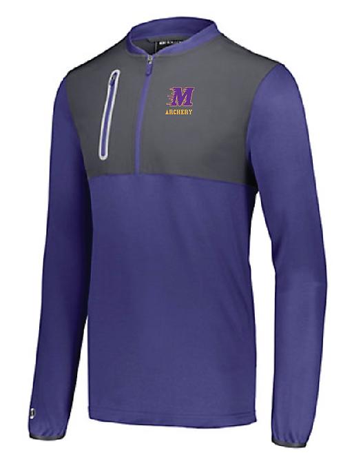 Weld Hybrid Pullover • 229596 • Purple/Carbon