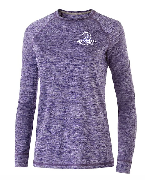 Ladies Electrify 2.0 Long sleeve shirt • 222724 •purple heather