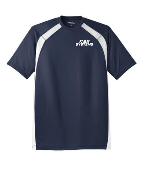 Sport-Tek® Dry Zone® Colorblock Crew • T478