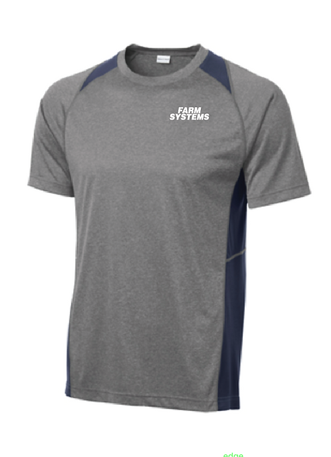 Sport-Tek® Heather Colorblock Contender™ Tee • ST361