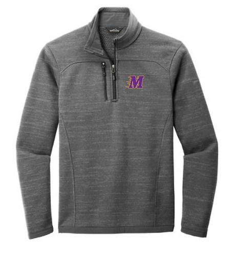 Eddie Bauer ® Sweater Fleece 1/4-Zip • EB254 • Dark Grey