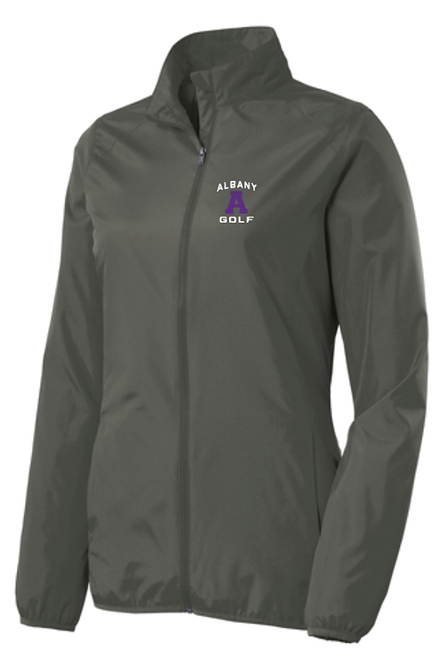 Port Authority® Ladies Zephyr Full-Zip Jacket • Grey Steel • L344