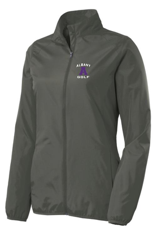 AG Port Authority® Ladies Zephyr Full-Zip Jacket • Grey Steel • L344