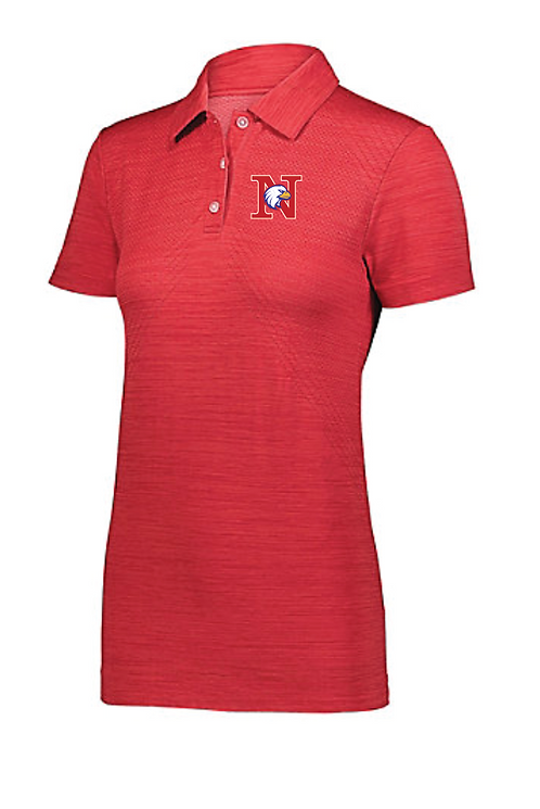 Ladies Striated Polo • 222756
