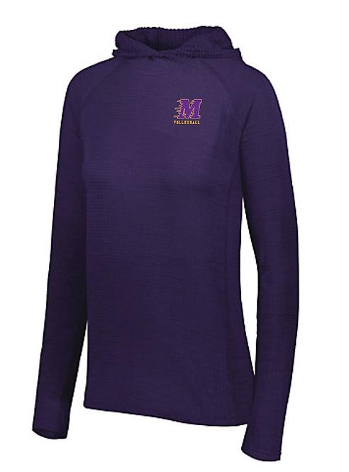 Holloway Ladies 3D Regulate Lightweight Pullover 222753 • purple heather