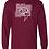 Thumbnail: Gildan® - Ultra Cotton® 100% Cotton Long Sleeve T-Shirt-2400 with name on back