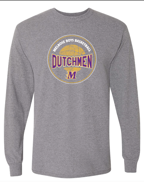 Gildan - DryBlend 50/50 Long Sleeve T-Shirt - 8400 • Graphite Heather