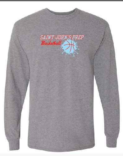 Gildan - DryBlend 50/50 Long Sleeve T-Shirt - 8400 • Sports Grey