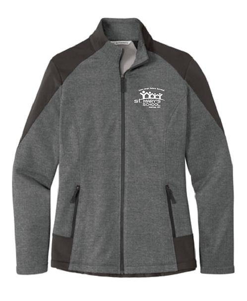 Port Authority® Ladies Grid Fleece Jacket •L239